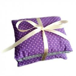 Set de pernuțe aromaterapeutice LavandEssence - Purple mini dots