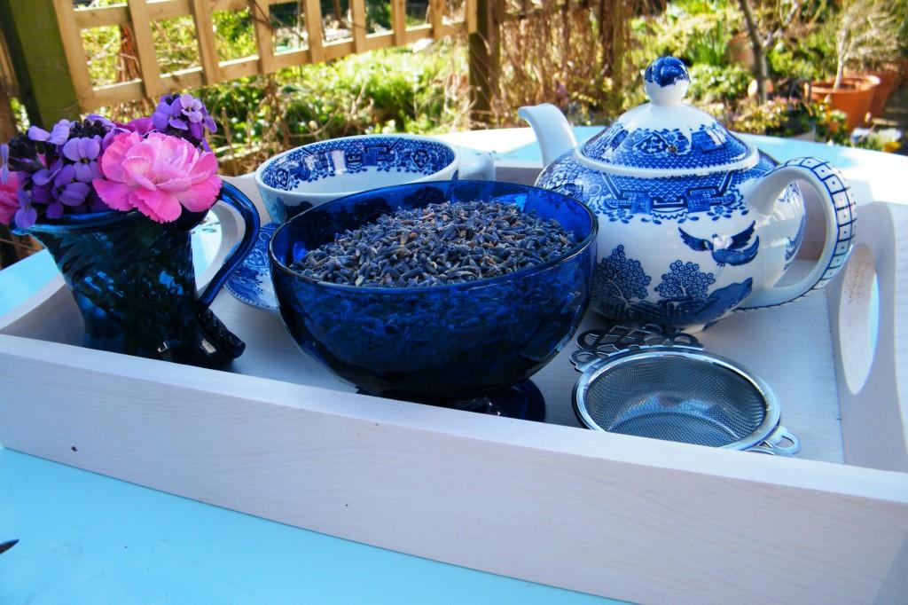 Lavanda pentru ceai
